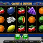 Der Geldspielautomat Candy and Fruits im Online Casino