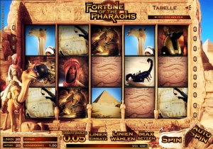 Spielautomat Fortune of the Pharaohs