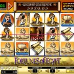 99 Freispiele am Slot Fortunes of Egypt