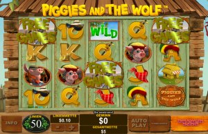 Der Slot Piggis and the Wolf