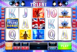 Der Geldspielautomat Britan´s Got Talent